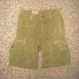 RALPH LAUREN POLO Military-Style Cargo Shorts